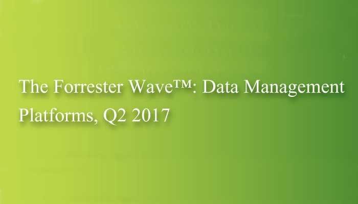 The new Forrester Wave_Data Management Platforms